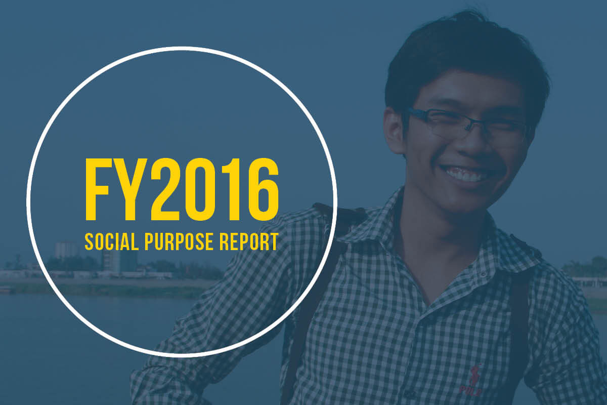 Cover photo from Zomia's FY2016 social purpose report